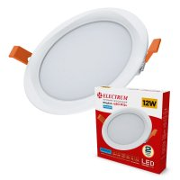 LED Downlight Electrum LEO M 12W 4000K IP40